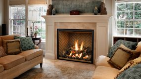 Mendota Luxury Gas Fireplaces & Inserts