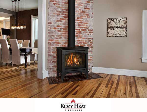 gas stove fireplace. Kozy Heat Birchwood Gas Stove Fireplace L