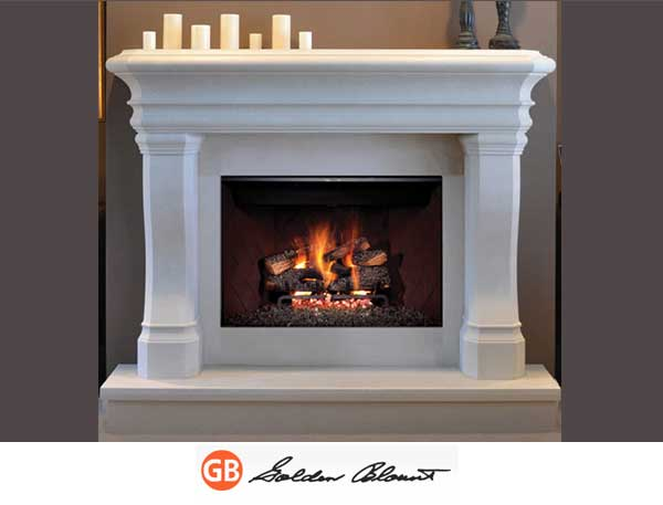 Open Gas Fireplaces Mountain Home, Open Gas Fireplace Indoor